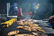 Outdoor BBQ catering and event hire.